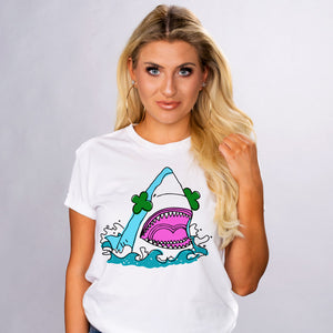 Shamrock Shark Shirt - Femfetti
