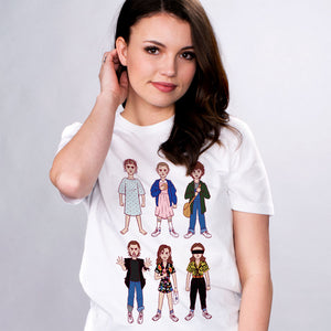 Evolution of Eleven Shirt - Femfetti