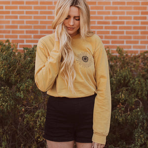Sunflower Boobs Long Sleeve - Femfetti