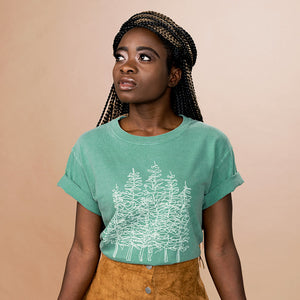 Tree Line Shirt - Femfetti