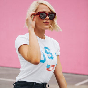 USA Flag Shirt - Femfetti