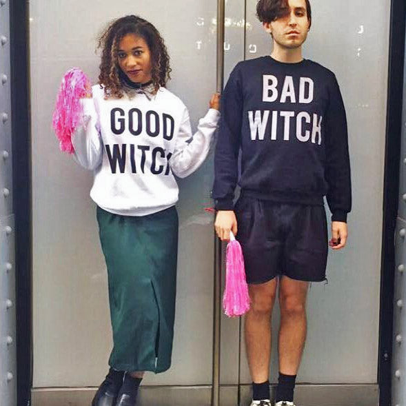 c2c33ec8 Good Witch / Bad Witch Duo Crewneck Sweatshirt Set - Femfetti