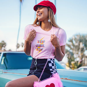Yes Girl Yes Shirt - Femfetti