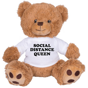 Social Distance Queen Brown Bear - Femfetti
