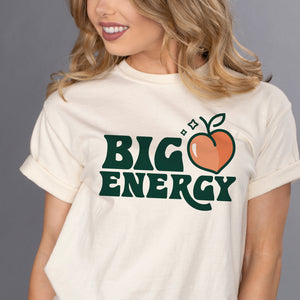 Big Peach Energy Shirt - Femfetti