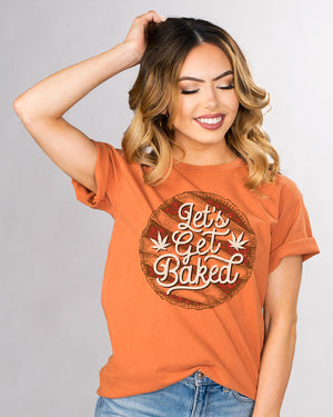 Pie Let's Get Baked Shirt