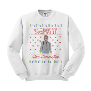 Steve Harrington Ugly Christmas Sweatshirt