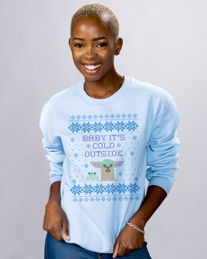 Baby It's Cold Outside Crewneck Sweatshirt