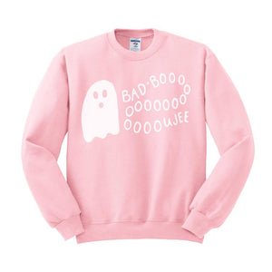 Bad and Boooujee (White Ink) Sweatshirt - Femfetti
