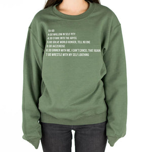 Christmas To-Do List Sweatshirt - Femfetti