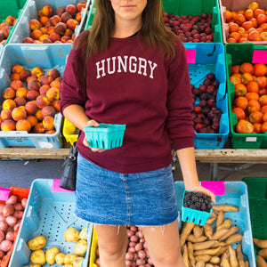 Hungry Sweatshirt - Femfetti