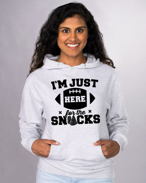 I'm Just Here For The Snacks Hoodie