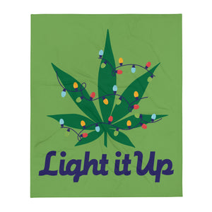 Light It Up Throw Blanket
