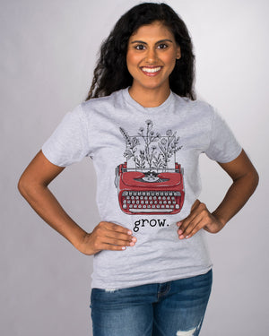 Grow Typewriter Shirt