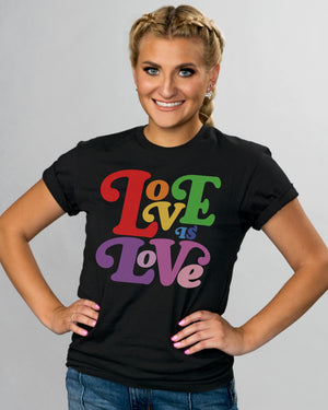 Love Is Love Pride Shirt - Femfetti