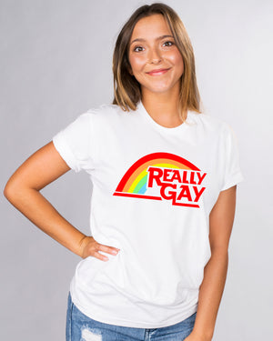 Really Gay Pride Shirt