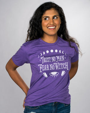 Trust No Man Fear No Witch Shirt - Femfetti