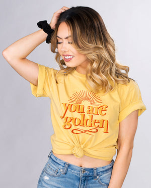 You Are Golden Shirt - Femfetti