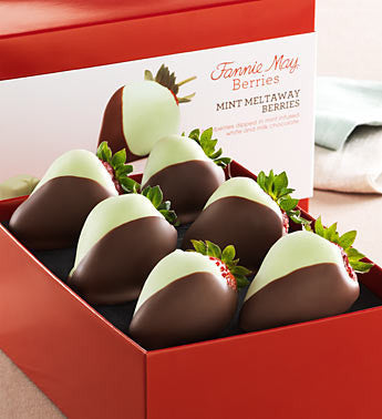 Mint Chocolate Strawberries