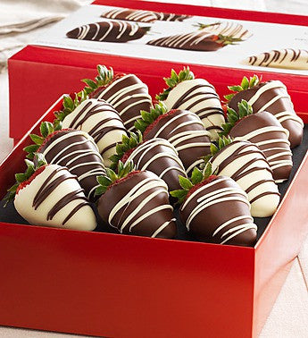Large, Luscious and Chocolaty Strawberries