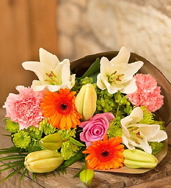 Exotic Oriental Lily Bouquet