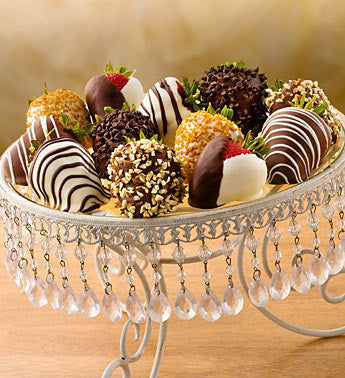 Decadent Chocolate-Covered Strawberries