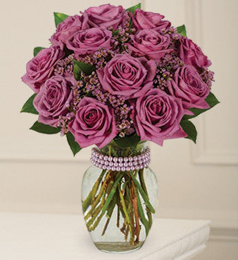 Purple Rain Rose Bouquet