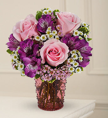 Pink and Purple Floral Wonder