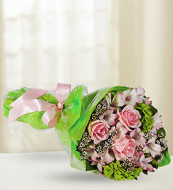 Pink English Rose Bouquet