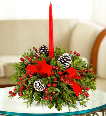 Berry Christmas Centerpiece