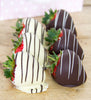 Striped Chocolate Strawberries
