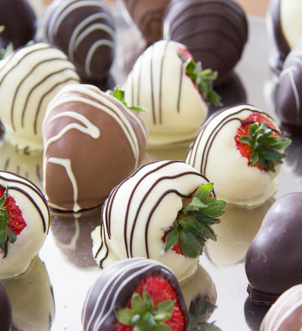 Mixed Dipped Strawberries