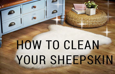 sheepskin cleaning and washing guide