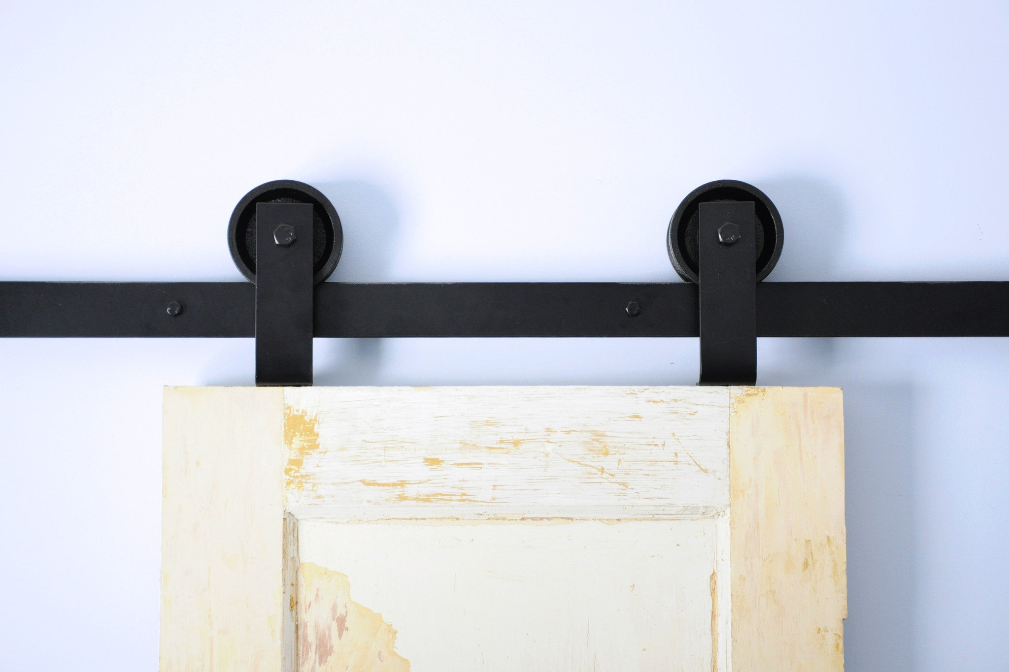 black barn door hardware kit
