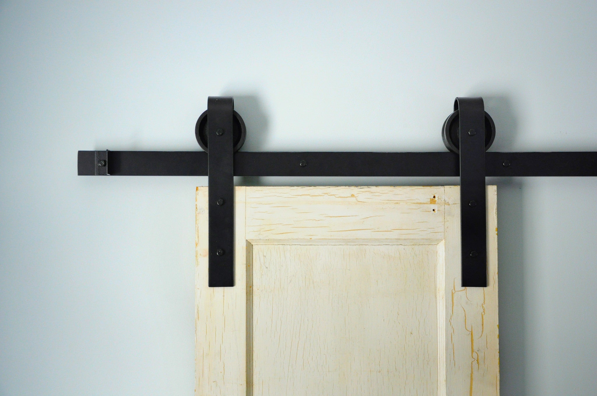 Sliding Double Barn Door Hardware Kit