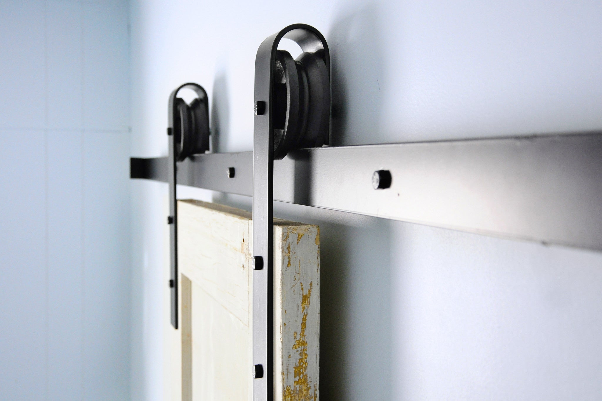 Traditional Sliding Double Barn Door Hardware track