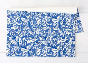 https://www.janeleslieco.com/products/hester-cook-blue-acanthus-paper-placemats