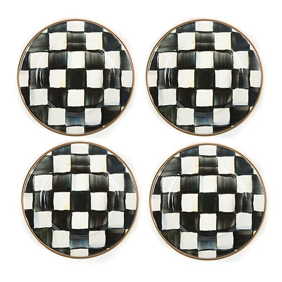 https://www.janeleslieco.com/products/mackenzie-childs-courtly-check-enamel-canape-plates-set-of-4