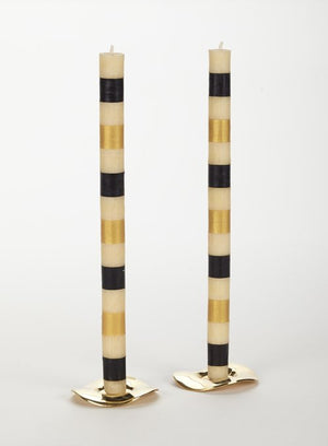 https://www.janeleslieco.com/products/Mackenzie-Childs Glow-multi-band-taper-ivory-black-gold-candles