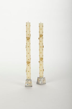 https://www.janeleslieco.com/products/et-al-designs-gold-bee-taper-candles