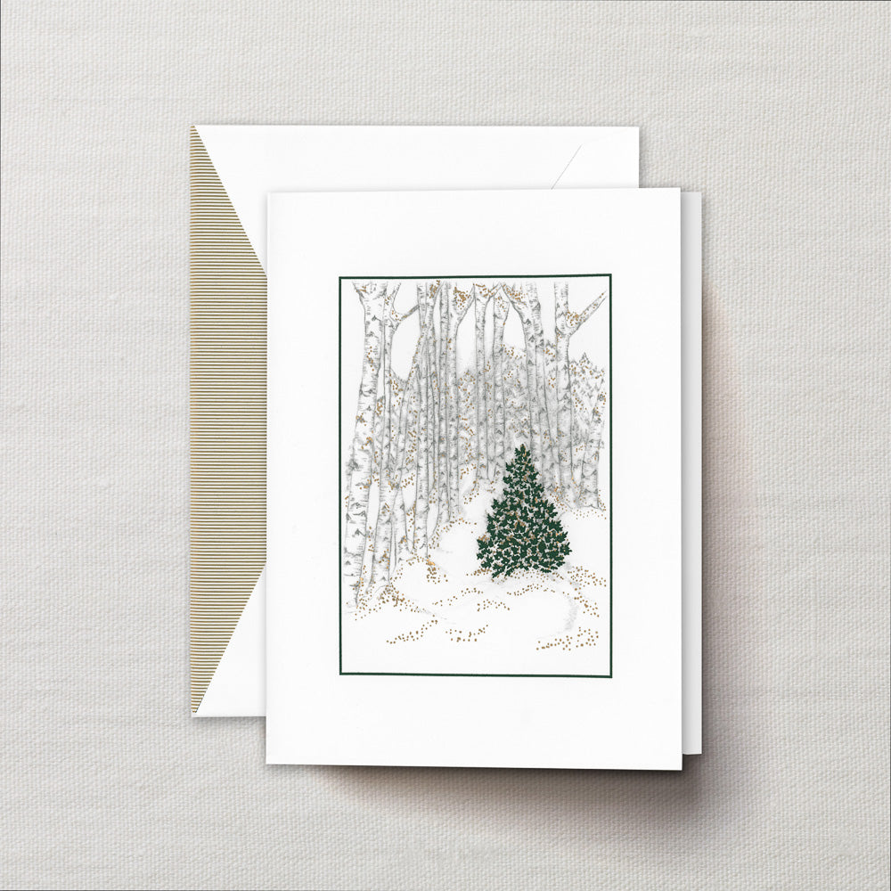 Crane co engraved into the woods greeting cards jane leslie and co httpsjanelesliecoproductscrane co m4hsunfo