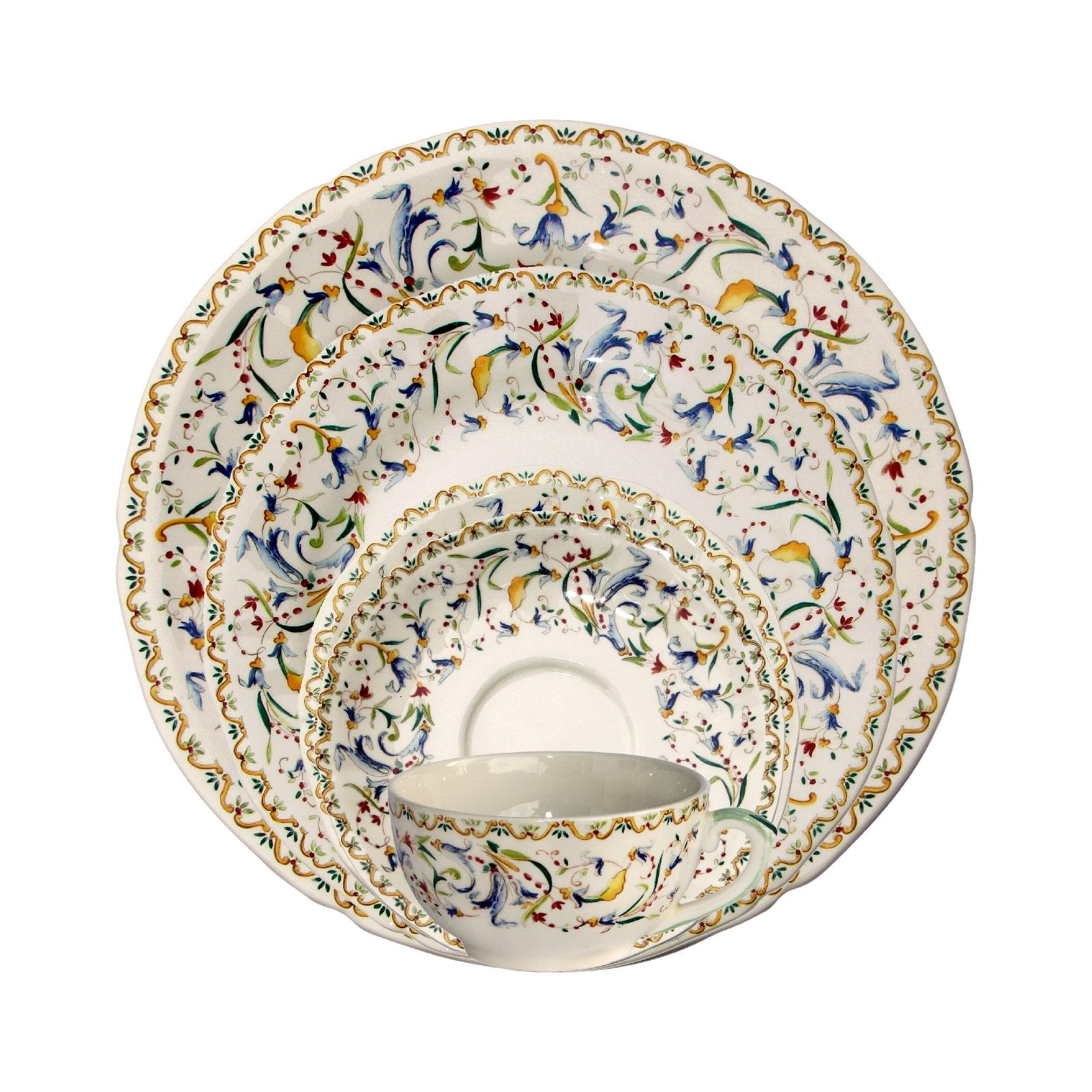 //.janeleslieco.com/products/gien-toscana- ...  sc 1 st  Jane Leslie u0026 Co & Gien Toscana Dinnerware - Jane Leslie and Co.
