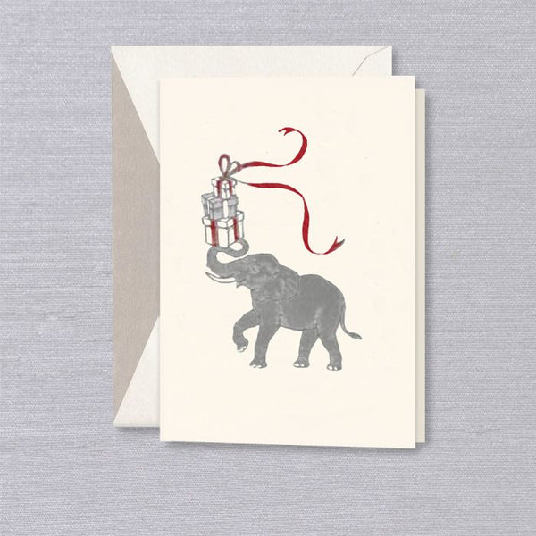 Crane & Co Vera Wang Engraved Elephant Holiday Card ON SALE