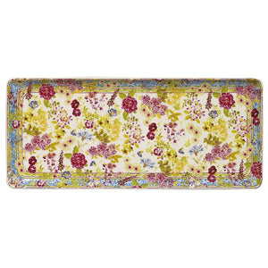 Gien Millefleurs Oblong Serving Tray