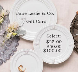 Gift Card starting at $25.00