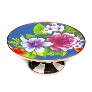 https://www.janeleslieco.com/products/mackenzie-childs-flower-market-mini-pedestal-platter-lapis