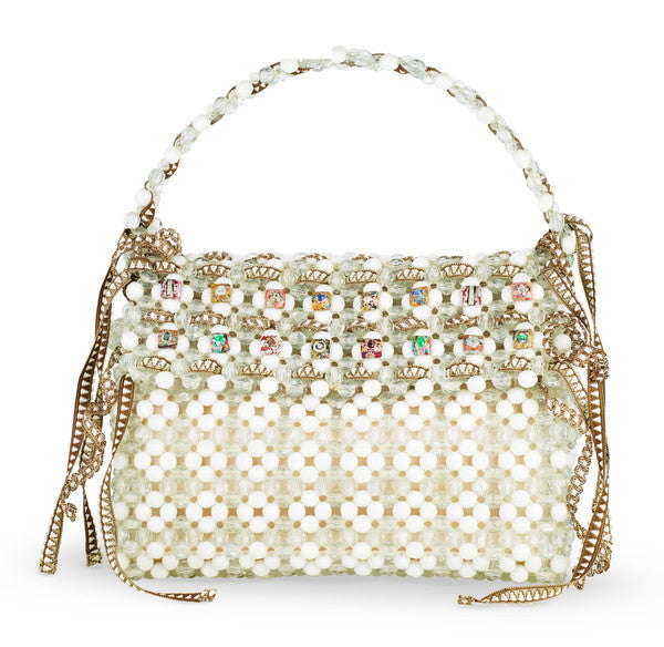 "Beaded Handbag ""Perlina"""