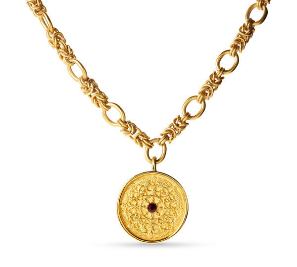 Gold Coin Pendant <br>