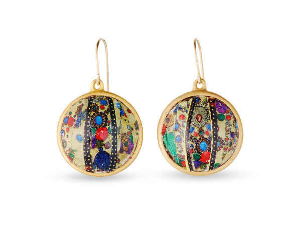 "Gold Drop Earrings <br> ""Sophia"""