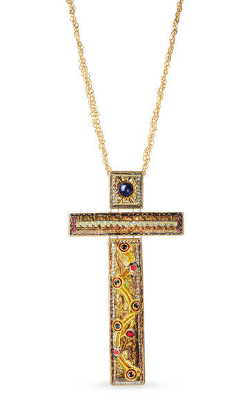 "Large Cross Necklace <br> ""Graciela"""
